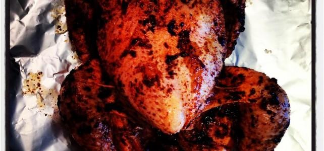 Grillad hel kyckling
